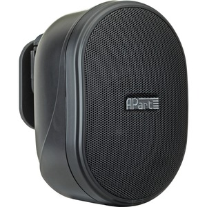 "APart 3"" Small Design Loudspeaker, Black"