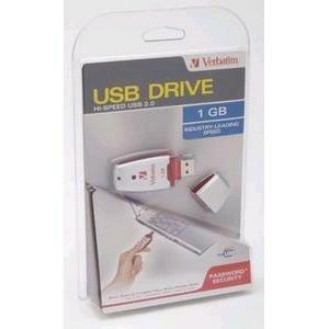 Verbatim 1GB USB Memory Drive Flash Drive