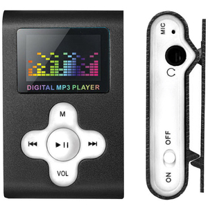 Marquant 4GB Mini Digital MP3 Audio Player with Voice Recording