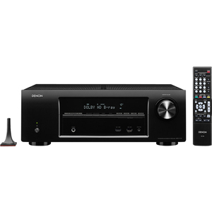 Denon 5.1 Channel 3D Pass Through and Networking Home Theater Receiver with AirPlay