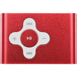 Yarvik PMP032 Run MP3 Player 4 GB Red