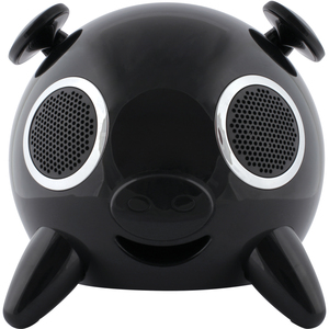 LASER Speaker Dock iPhone/iPod iPig Stereo 2.1 Touch Blk