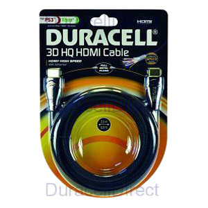 Duracell HDMI AUdio/Video Cable with Ethernet