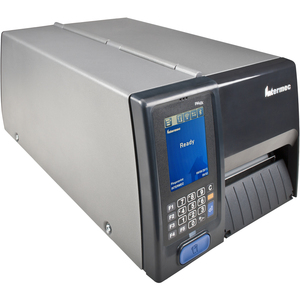 "Intermec PM43c Direct Thermal/Thermal Transfer Printer - Monochrome - Desktop - Label Print - 4.25"" Print Width - 12 in/s Mono - 300 dpi - 128 MB - USB - Serial - Ethernet - Touchscreen - 4.50"" Label Width"