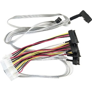 Adaptec 0.8M Internal Mini SAS HD x4 to 4 x1 Serial Attached SCSI Fan-Out Cable