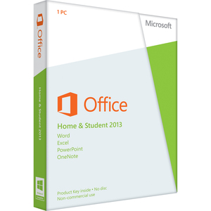 Microsoft Office 2013 Home & Student 32/64-bit - Office Tool - Retail - PC - English