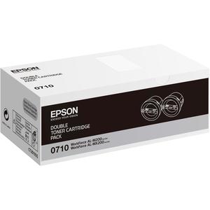 Pack de 2 Toner Epson Noir 0710 - S050710