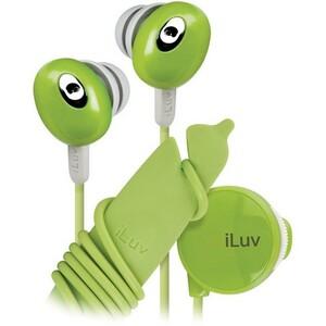 iLuv IEP311GRN Stereo Earphone