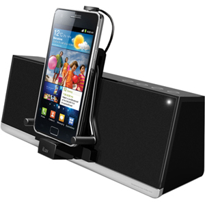 iLuv MobiDock Stereo Speaker Dock for Smartphones and Kindle Fire/Touch