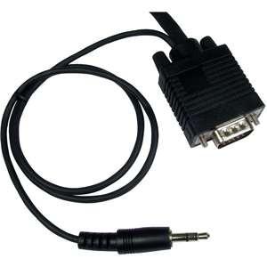 Cables Direct SVGA + 3.5mm Stereo Cable