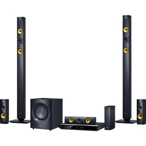 LG 1460W 9.1ch 3D Smart Home Theater System with Wireless Speakers BH9430PW