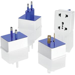 Conair Travel Smart Polarized Adapter Plug Sets - 110 V AC / 10 A, 220 V AC