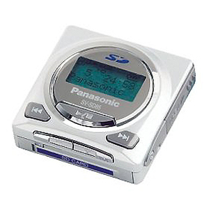 Panasonic e-wear 128MB SD Audio MP3 Player