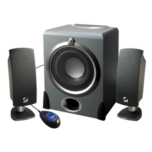 Cyber Acoustics Pro Series A-3640rb Multimedia Speaker System