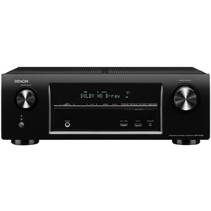 Denon 5.1ch AV Receiver Featuring Internet Radio, AirPlay and Spotify