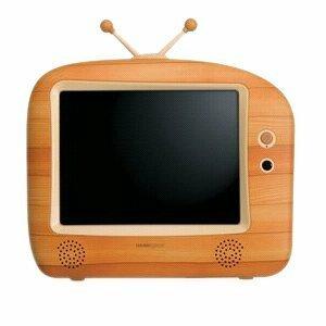 "Hannspree HANNSwood 9.6"" LCD TV"