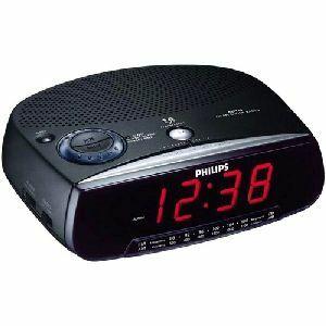 Philips AM/FM Clock Radio