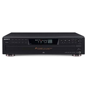 Sony CDP-CE375 CD Player/Changer