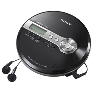 Sony DNF340 CD MP3 Player