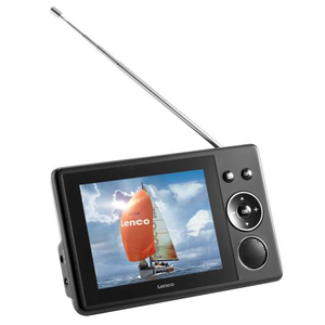 "Lenco TFT-370 Portable 3.5"" LCD TV"