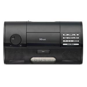 Trust SoundForce Alarm Clock Radio For iPod SP-2993Bi