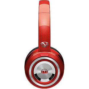 Monster Cable NCredible NTune Candy Red On-Ear Headphones