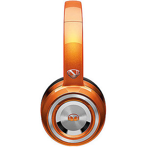 Monster Cable NCredible NTune Candy Tangerine On-Ear Headphones