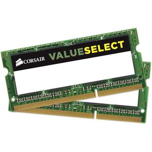 Corsair 16GB DDR3L SODIMM Memory (CMSO16GX3M2C1600C11) - 16 GB (2 x 8 GB) - DDR3 SDRAM - 1600 MHz DDR3-1600/PC3-12800 - 1.35 V - Unbuffered - 204-pin - SoDIMM