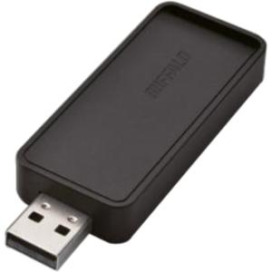 BUFFALO AirStation N300 Dual Band Wireless USB Adapter (WI-U2-300D) - Wireless N/G/B - Compact Design - Easy Setup - Wireless Security