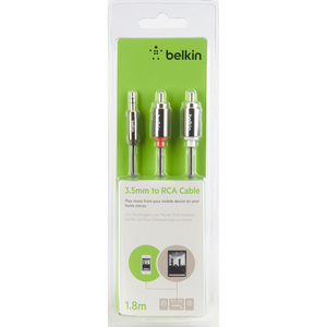 Belkin RCA Audio Cable, 1.8m
