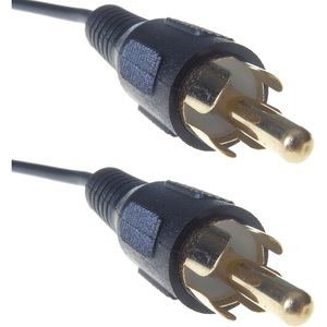 Group Gear 20M A/V Cable RCA(Phono) Male to RCA(Phono) Male Cable Gold Ends