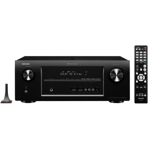 Denon 7.1 Channel 4K & 3D Pass Through, Networking Home Theater Receiver with AirPlay
