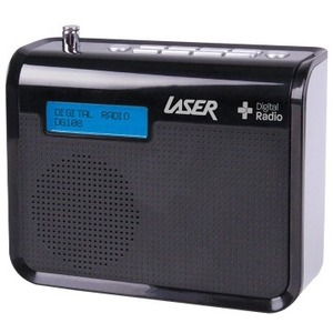 LASER Digital Radio DAB+ Portable DG108