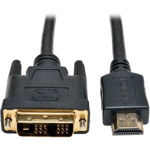Tripp Lite HDMI to DVI Cable, Digital Monitor Adapter Cbl(HDMI to DVI-D M/M)50ft
