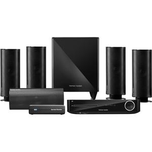 Harman Kardon 5.1 Blu-ray 3D System with 200-Watt Wireless Subwoofer, Bluetooth and AirPlay