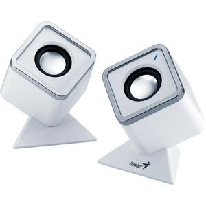 Genius Cubed Stereo Speakers
