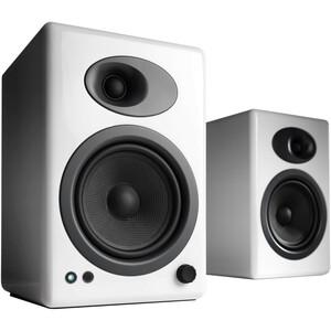 Audioengine A5+ Powered Speakers, White
