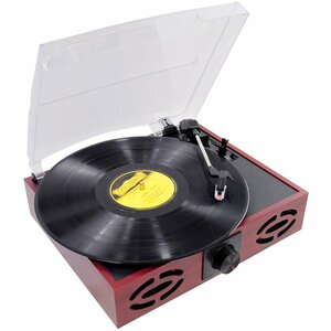 PylePro Retro Style Turntable With USB-to-PC