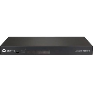 AVOCENT ACS 6000 48-Port Advanced Console Server w/ Dual AC Power Supply