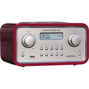 Tangent Trio 03511302 Desktop Clock Radio