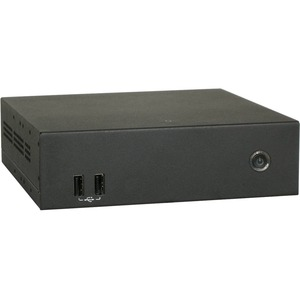 AOpen Digital Engine DE6140-48BP Digital Signage Appliance - R-Series 2.30 GHz - 8 GB - 320 GB HDD - HDMI - USB - SerialEthernet - Black