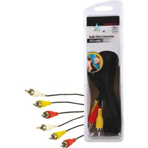 HQ Basic Audio / Video Cable 2.50 m