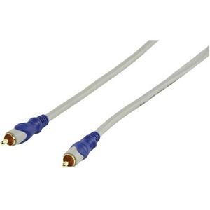 HQ Standard RCA Male - RCA Male 75 Ohm Cable 10.0 m