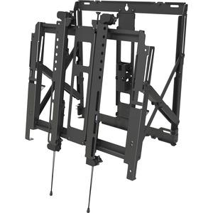 Peerless-AV DS-VW755S Wall Mount for Flat Panel Display Black DSVW755S