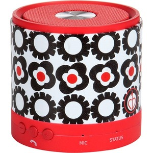 chicBuds Porta Party Bluetooth Speaker Flora