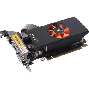 Zotac ZT-71003-10L GeForce GT 740 Graphic Card - 993 MHz Core - 1 GB GDDR5 - PCI Express 3.0 x16 - Low-profile - Dual Slot Space Required - 5000 MHz Memory Clock - 128 bit Bus Width - 2560 x 1600 - Fan Cooler - DirectX 12, OpenGL 4.4 - 1 x HDMI - 1 x VGA