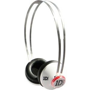 Jivo One Direction (1D) Signature Series SnapCaps On-Ear Headphones in White