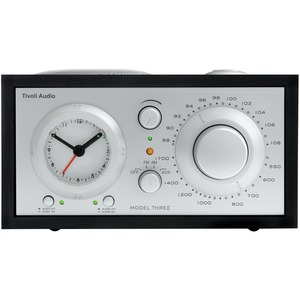 Tivoli Audio Model Three BT AM/FM Clock Radio with Bluetooth