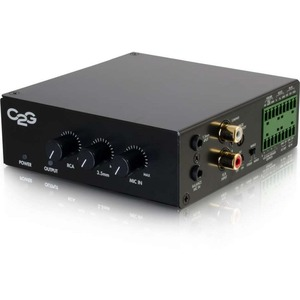 C2G 8 OHM 50W Audio Amplifier - Plenum Rated
