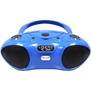 Hamilton Buhl CD/ BlueTooth Boom Box Supports Bluetooth V2.0 Wireless Range: 33 Feet Cd Player Programmable Tracks - 1 x Disc Integrated Stereo Speaker LCD - CD-DA, MP3